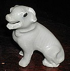 A Nice Chinese Export Miniature Ceramic Dog