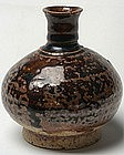 Sukhothai Brown Glaze Bottle Vase