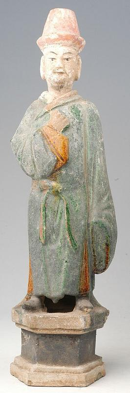 Ming Dynasty, Chinese Figure of Court Man
