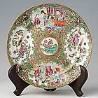 Chinese Export Rose Medallion Dessert Plate