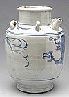 Provincial Ming Blue and White Dragon Ewer