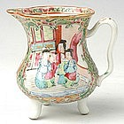 Chinese Export Rose Medallion Creamer