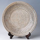 Sukhothai, Large Underglazed Kalong Dish