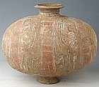 Han Dynasty Large Cocoon Jar