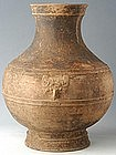 Han Dynasty, Large Chinese Pottery Jar