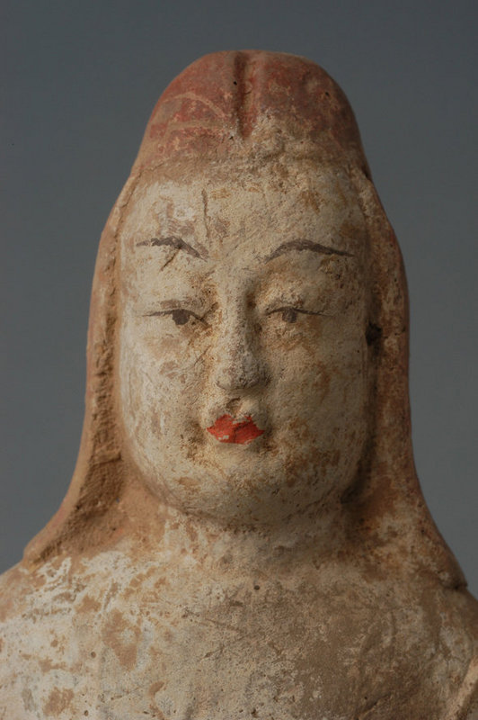 Northern Qi, Chinese Painted Pottery Warrior