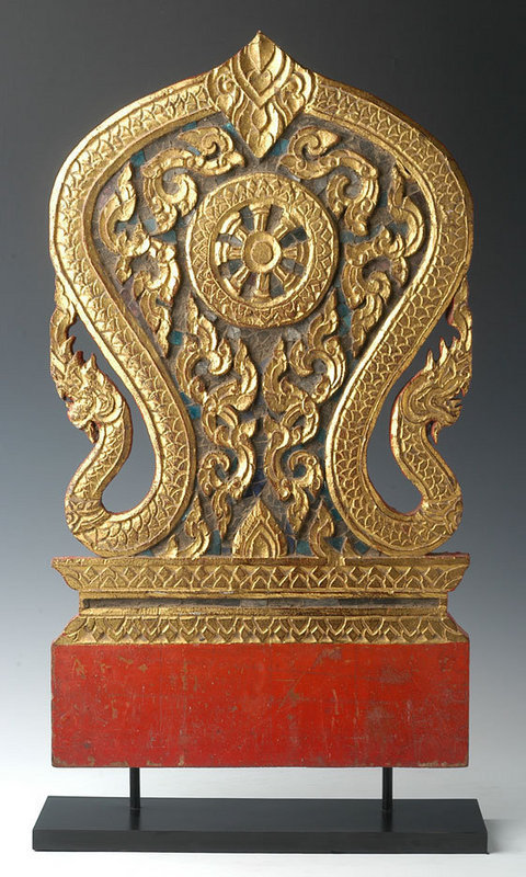 19th Century, Thai Wood Carving