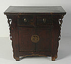 19th Century, Chinese Wooden Shanxi Cabinet