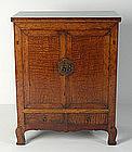 19th Century, Chinese Wooden Gansu Cabinet