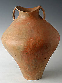 Big Chinese Siwa Culture Pottery Amphora