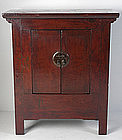 19th Century, Chinese Wooden Gansu Cabinet