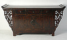 19th Century, Chinese Wooden Shanxi Sideboard