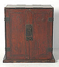 19th Century, Chinese Wooden Zhejiang Book Chest