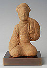 Han Dynasty, Chinese Pottery Entertainer