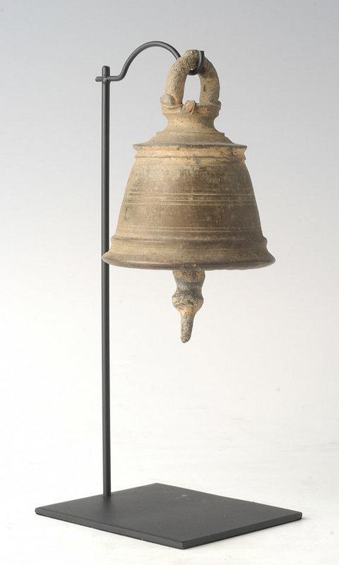 19th Century, Burmese Bronze Temple Bell