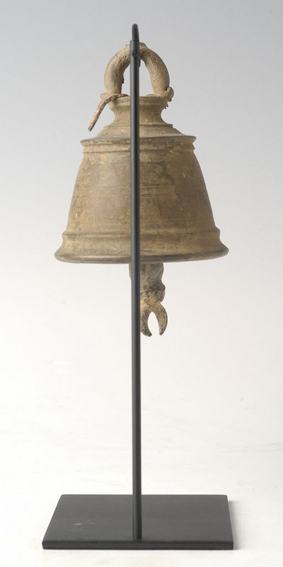 19th Century, Burmese Bronze Temple Bell