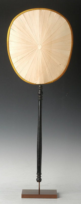 20th Century, Rare Thai Monk's Fan