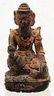19th Century, Mandalay, Burmese Medicine Figure of Nat