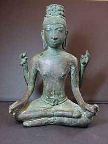 A Praconchai bronze figure of Avalokitsvara.