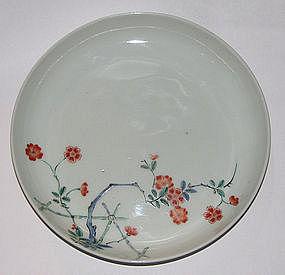 A Japanese Kakiemon dish.