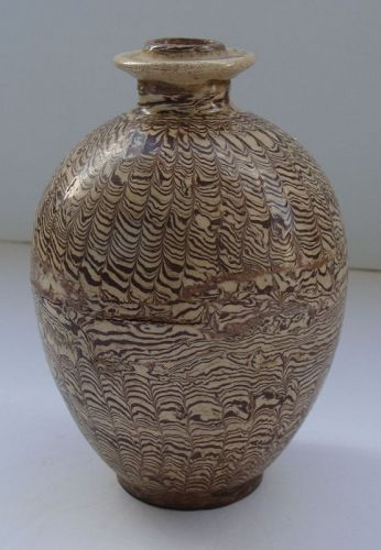 Jiaotai Marbled Jar