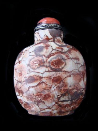 Puddingstone Snuff Bottle