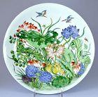 Chinese Famille Verte Plate