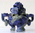 Chinese Lapis Lazuli Censer