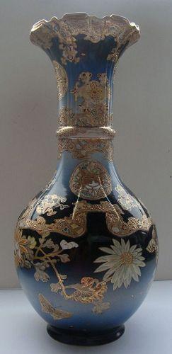 Japanese Kyo-Satsuma-yaki Vase