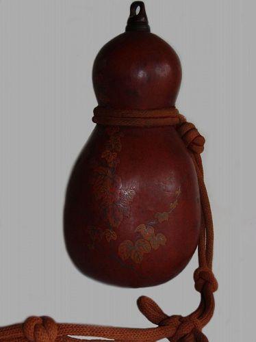 Japanese Hyotan Gourd Sake Bottle