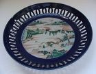 Chinese Famille Verte Low Bowl