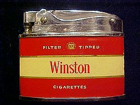 WINSTON CIGARETTES ADVERTISING LIGHTER EARLY 1960's