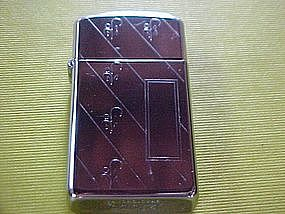FANCY SLIM ZIPPO CIGARETTE LIGHTER