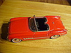 1953 CORVETTE CONVERTIBLE TIN FRICTION TOY FIFTIES