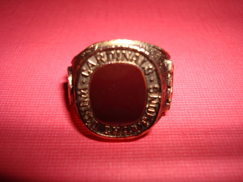 1982 ST. LOUIS CARDINALS WORLD SERIES RING