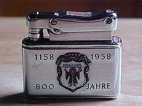 FBELO MONOPOL CIGARETTE LIGHTER  MUNCHEN 800 YEARS