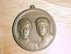 STAR TREK 10th ANNIVERSARY COMMEMORATIVE MEDAL BRONZE