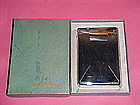ART DECO LIDO COMBO CIGARETTE LIGHTER CASE