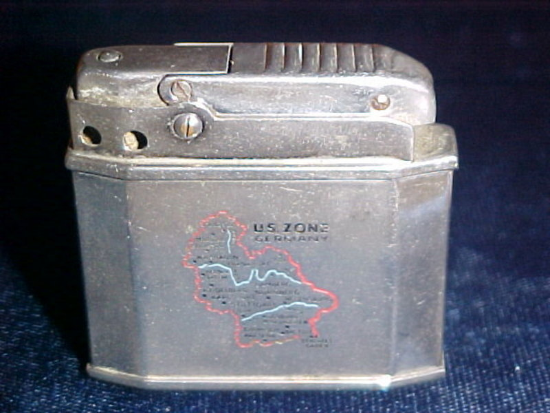 US ZONE GERMANY CIGARETTE LIGHTER AUGUSTA AUTOMATIC