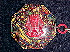 VINTAGE EGYPTIAN REVIVAL ART DECO LADIES CELLULOID BELT