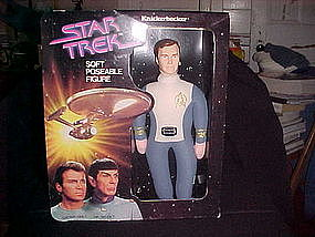 STAR TREK CAPTAIN KIRK FIGURE BY KNICKERBOCKER 1979