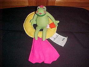 ANNALEE DOLL FLOATING FLO FROG