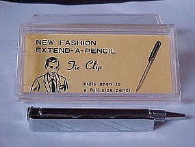 VINTAGE MECHANICAL PENCIL TIE CLIP/TIE BAR 1960'S