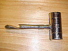 VINTAGE CHASE CHROME SHOT MEASURE & BOTTLE OPENER