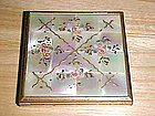 VINTAGE ELGIN AMERICAN COMPACT W/ MOTHER OF PEARL TILES