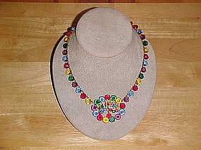 DECO MULTI COLORED NECKLACE