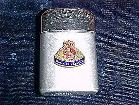 VINTAGE QUEEN ELIZABETH 2 RONZON CIGARETTE LIGHTER
