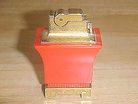 VINTAGE A.S.R. TABLE CIGARETTE LIGHTER ORIENTAL DESIGN