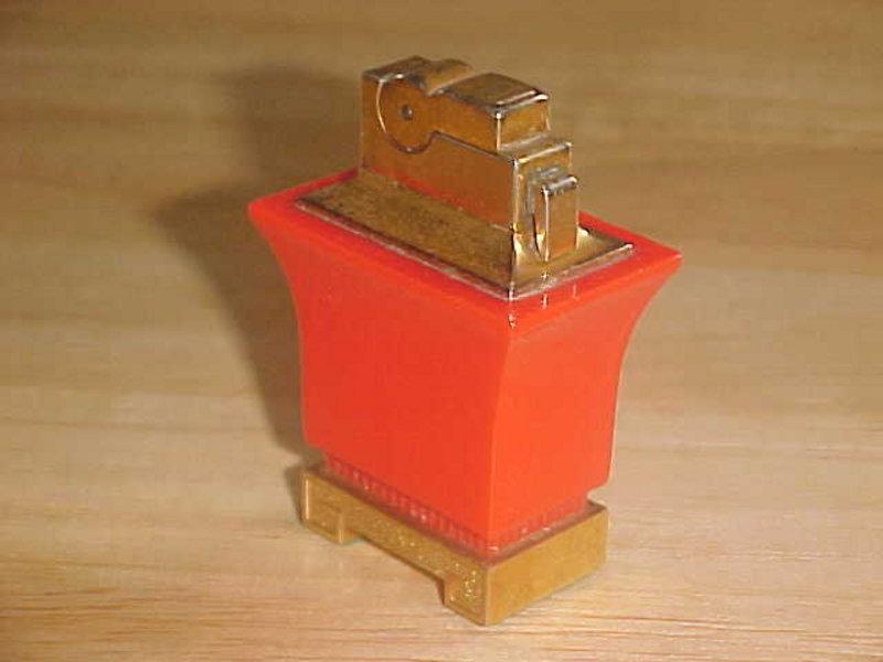 VINTAGE A.S.R. TABLE CIGARETTE LIGHTER ORIENTAL DESIGN