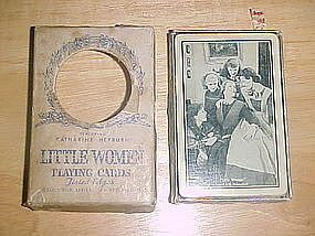 VINTAGE PLAYING CARDS FROM R.K.O.  MOVIE LITTLE WOMEN